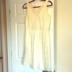 Ivory daisy dress